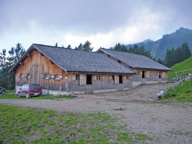 Gemeinschaftsstall Gassneralpe, St. Gerold