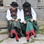 Trachtenträgerinnen Großes Walsertal